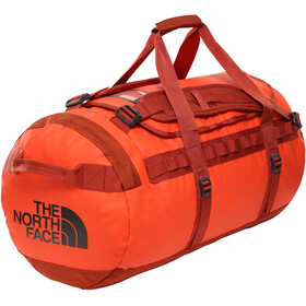 The North Face Base Camp Duffel M, acrylc orange/picante red